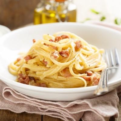 Spaghettis carbonara
