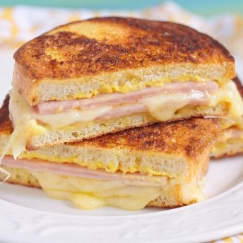 French Croque-monsieur